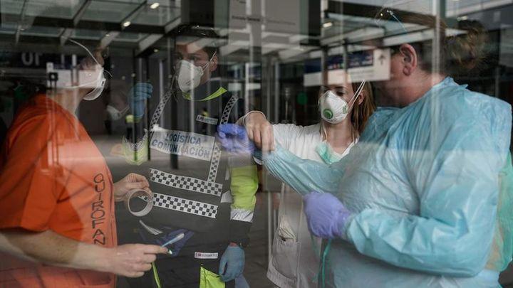 Madrid frena el número de muertes en un día con un aumento notable de contagios