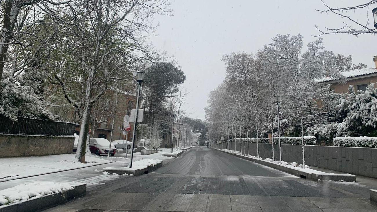 Nieve en San Lorezo