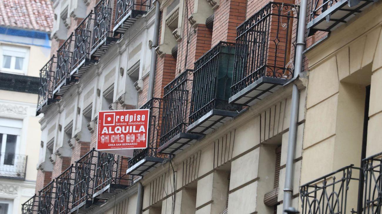 Vivienda en alquiler en el centro de Madrid