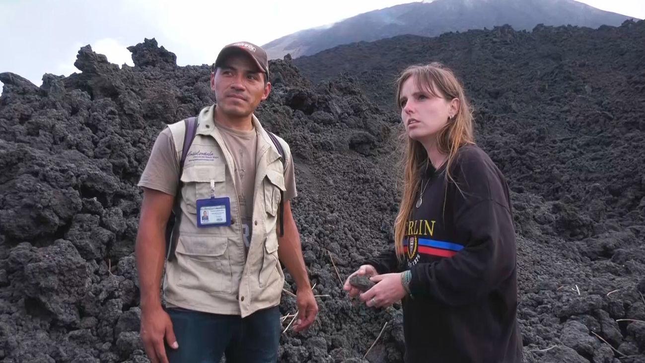 Visitamos el volcán Pacaya
