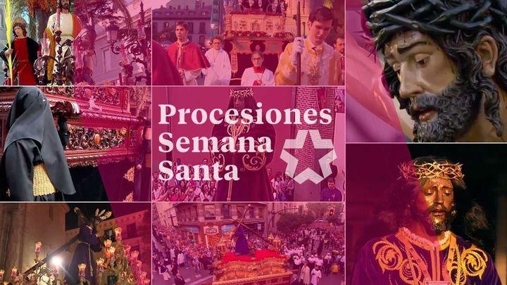 Telemadrid rememora las principales procesiones para llevar la Semana Santa a todos los madrileños en sus casas