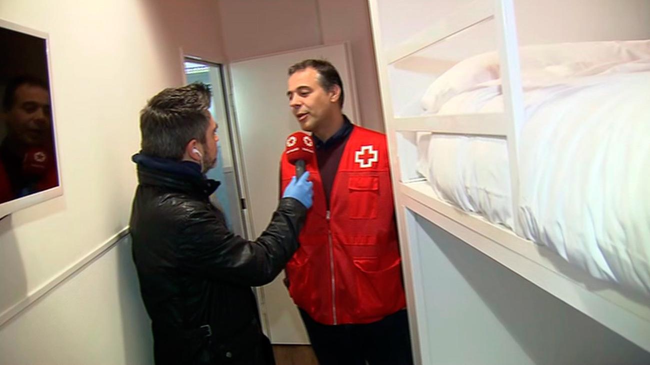 Habilitado un hostal en el centro de Madrid para 30 familias sin recursos