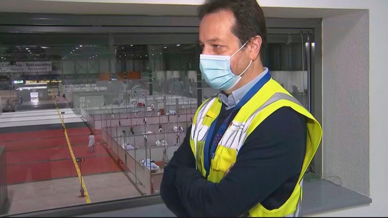 """Fernando Prados: """"Es normal que surjan problemas; el hospital de Ifema se ha hecho en ocho días"""""""