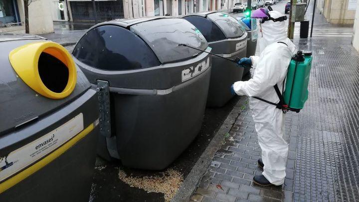 Aranjuez amplía el servicio especial de limpieza y desinfección