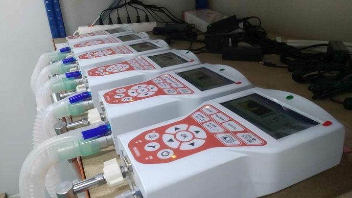 Una empresa de Móstoles fabricará 100 equipos de respiración al día