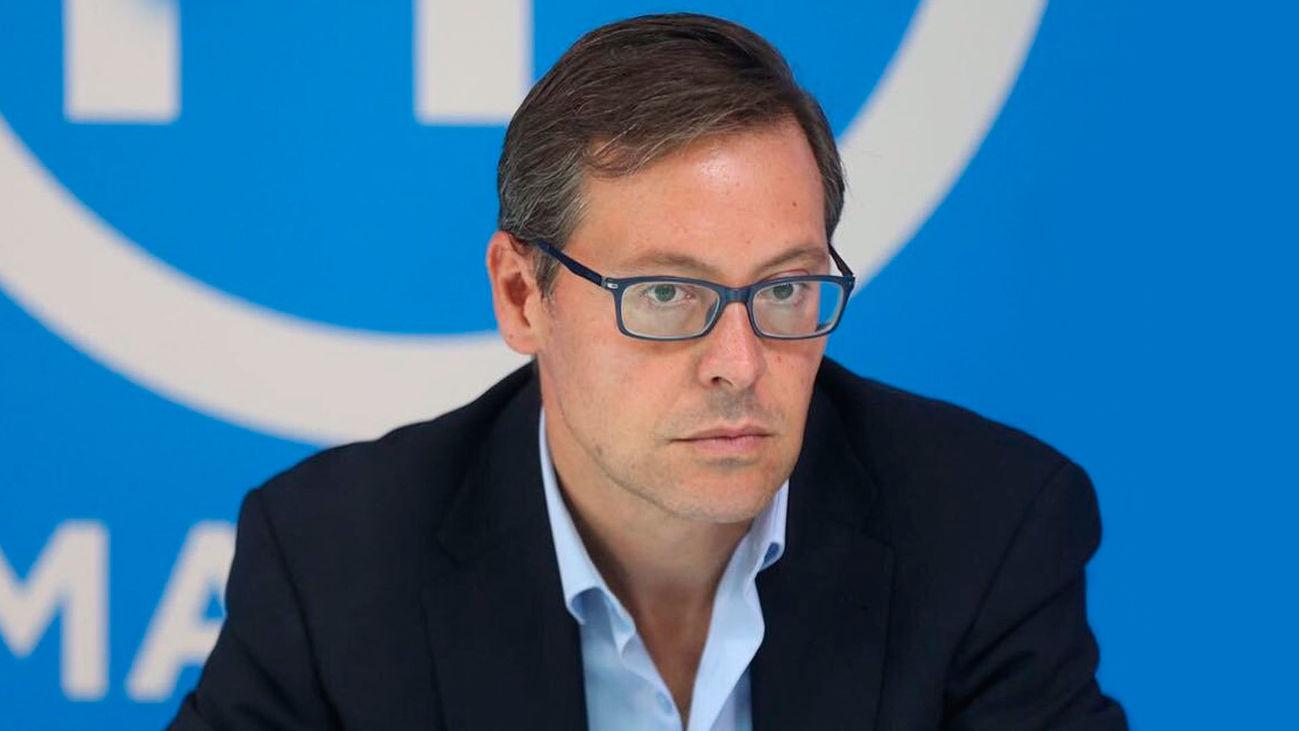 Alfonso serrano, portavoz del Grupo Popular en la Asamblea de Madrid