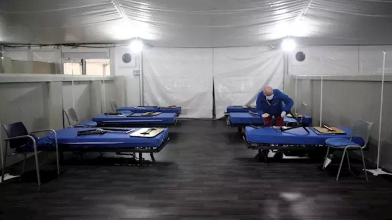 Hospital de campaña de Fuenlabrada