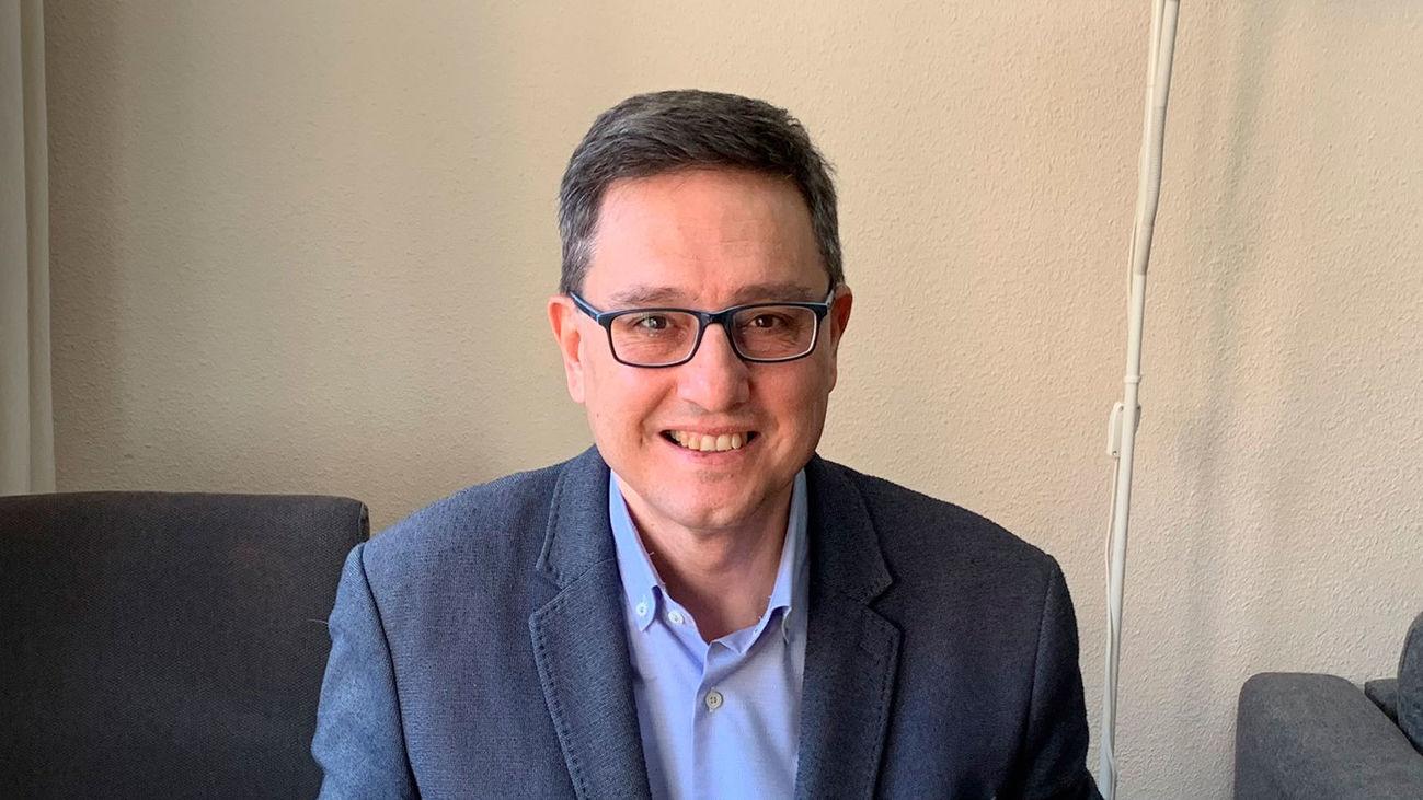 Tomás Marcos, diputado de Ciudadanos en la Asamblea de Madrid y senador
