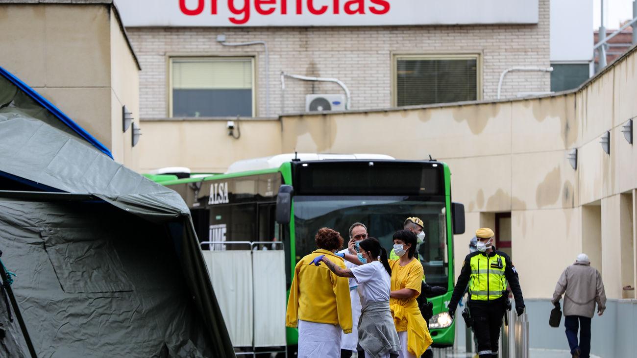 Urgencias de Madrid bajan su presión asistencial al descender en un millar los pacientes pediente de ingreso