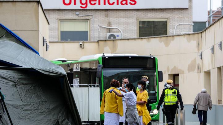 La presión en las Urgencias de los hospitales madrileños ha descendido notablemente