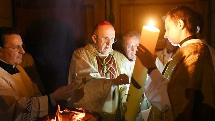 Santa Misa en Telemadrid con el cardenal arzobispo, Carlos Osoro