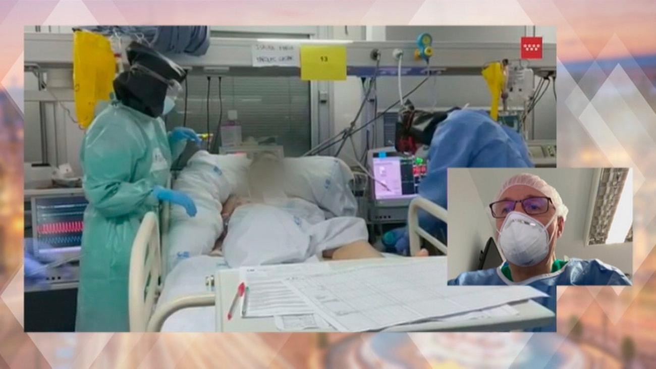 """Luis Izquierdo, médico del Severo Ochoa: """"Ha bajado la presión en Urgencias"""""""