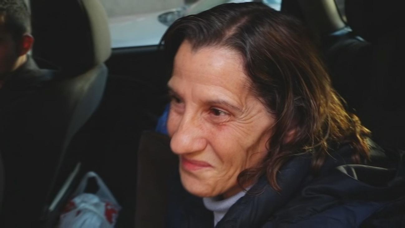 Final feliz para la familia madrileña confinada en su coche