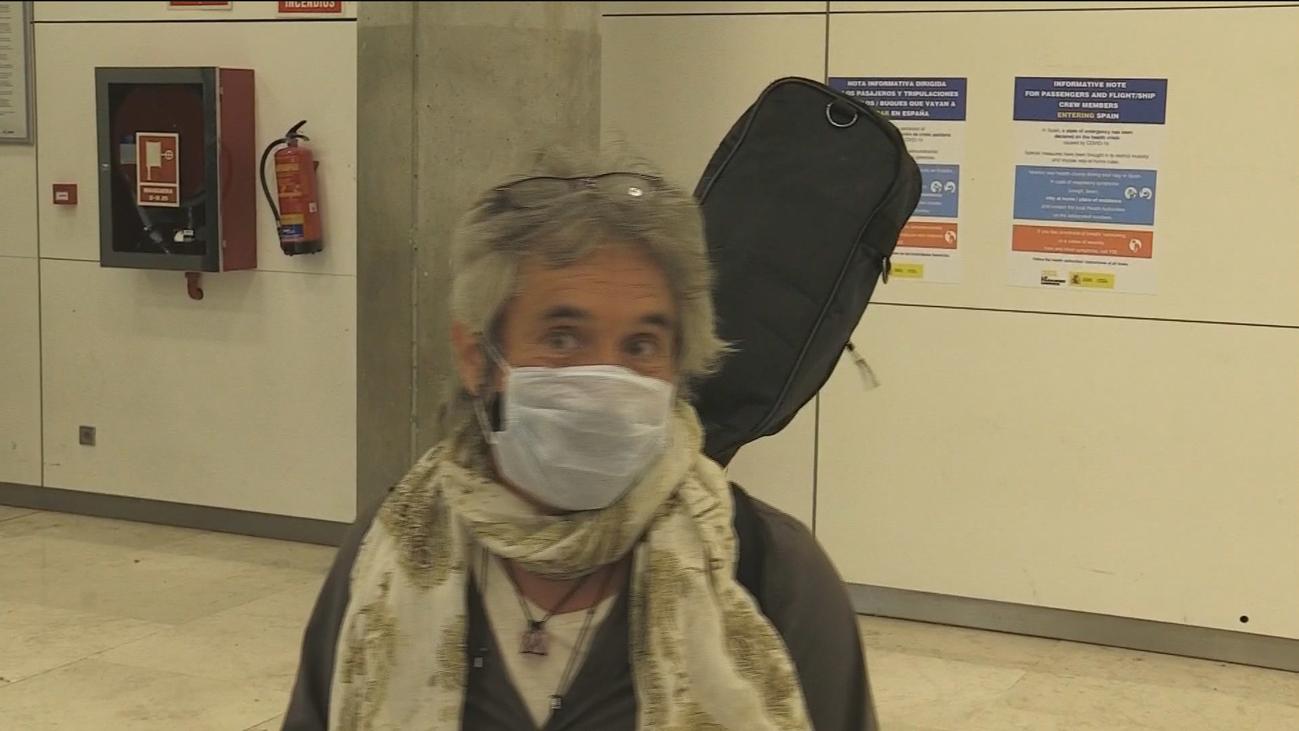 Llega a Madrid el vuelo fletado por el Gobierno para repatriar a 200 turistas de India