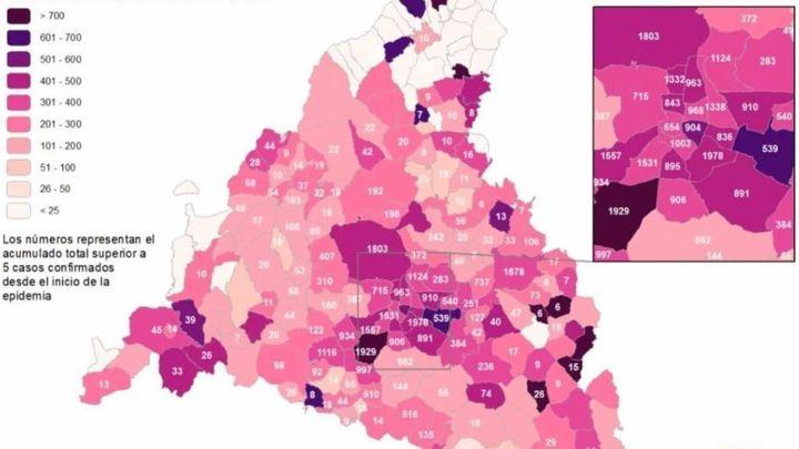 La sierra norte de Madrid, la zona con más municipios 'libres' de coronavirus