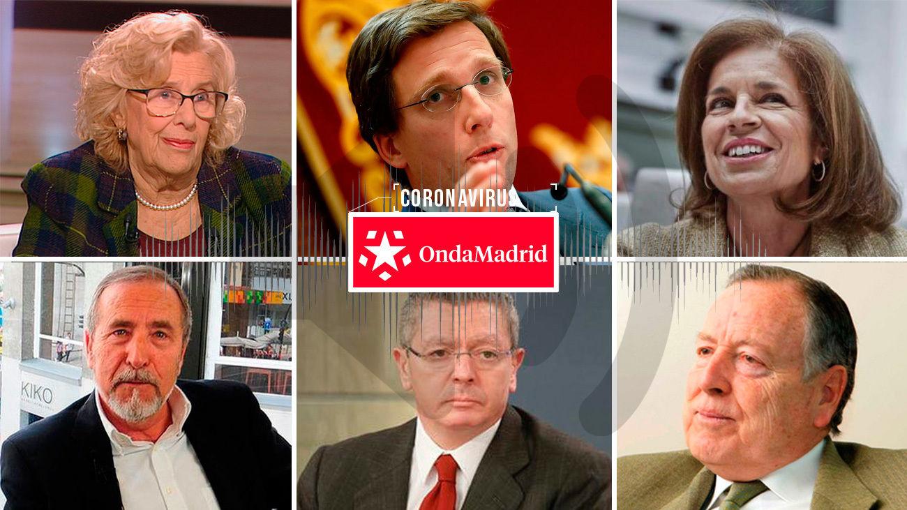 Los alcaldes de Madrid hablan en Onda Madrid sobre la crisis del coronavirus