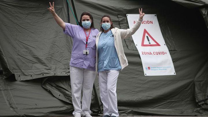 El Marañón supera las 1.000 altas hospitalarias de pacientes de Covid-19
