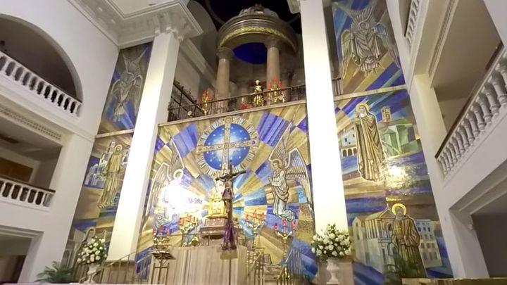 Telemadrid.es abre la Basílica de Nuestro Padre Jesús de Medinaceli con la emisión en vivo de una cámara 360º