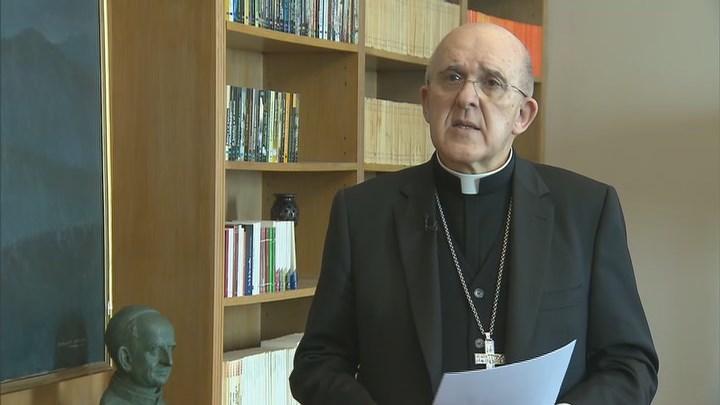 """Carlos Osoro: """"Dios no es secundario, esta Semana Santa tenemos que saber que está con nosotros"""""""