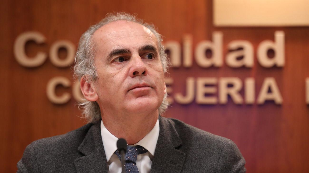 Enrique Ruíz Escudero, consejero de Sanidad (Europa Press)
