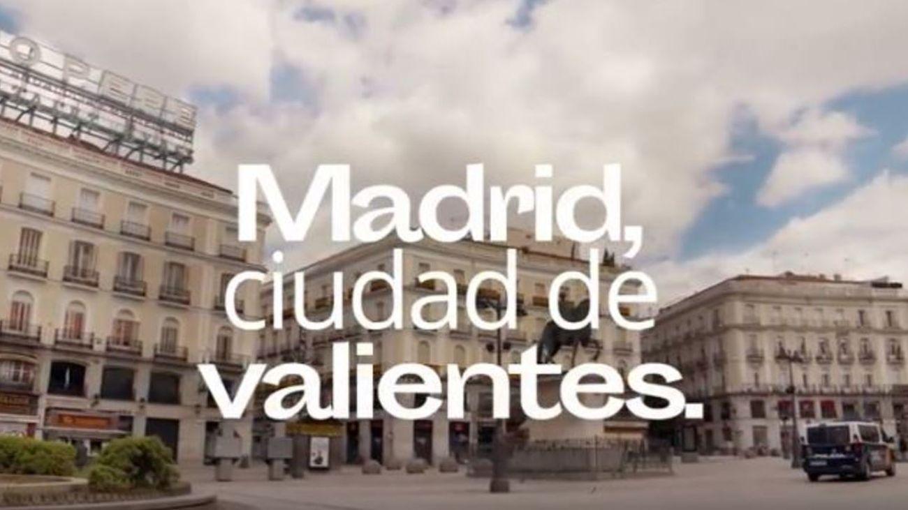 'Madrid, ciudad de valientes'