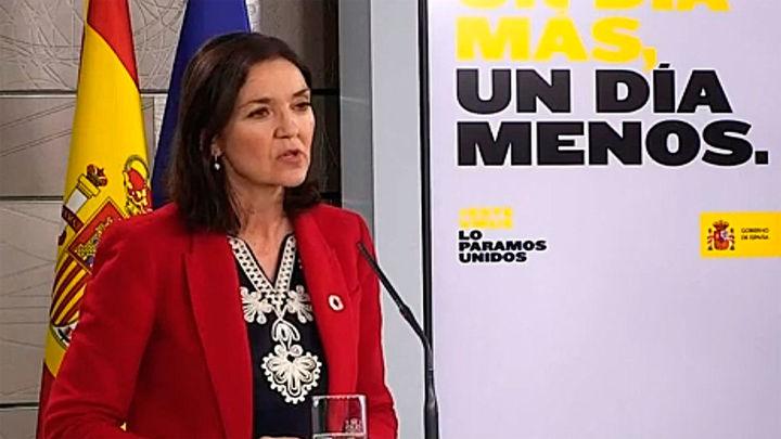 """La ministra Maroto rectifica tras afirmar que la erupción de La Palma """"es reclamo turístico que podemos aprovechar"""""""