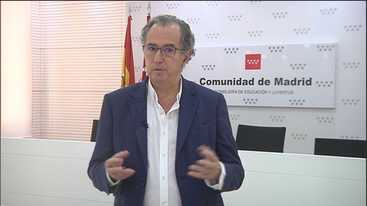 """Educación descarta terminar el curso escolar en Madrid en julio: """"Es la última opción"""""""