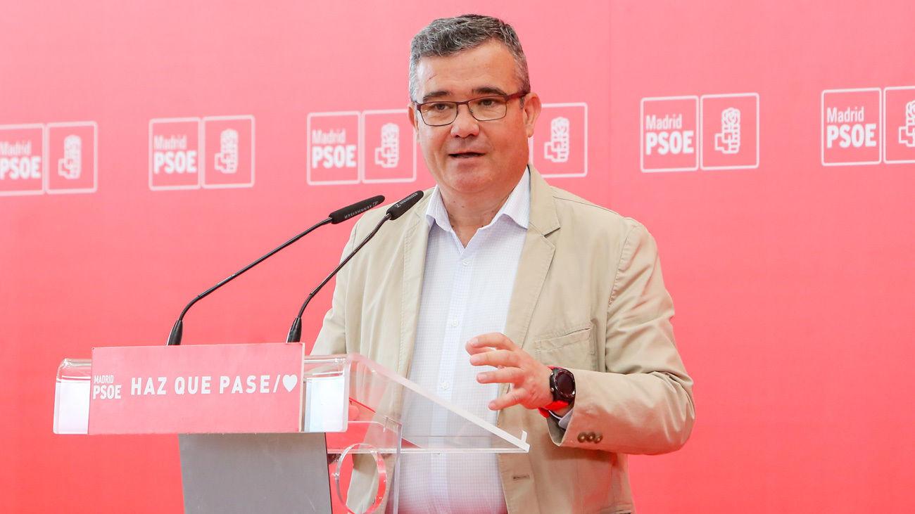 Guillermo Hita, presidente de la Federación de Municipios de Madrid y alcalde de Arganda del Rey