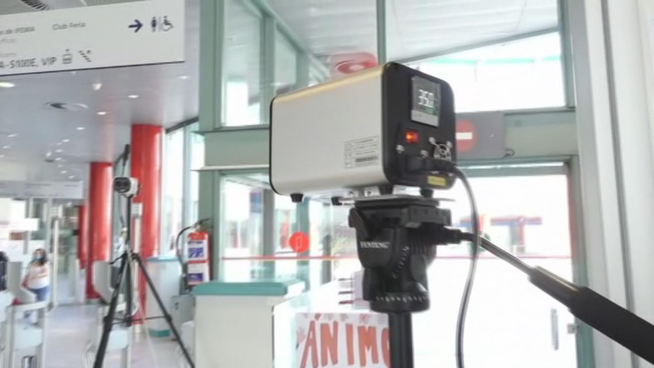 Lanzan un termómetro gigante capaz de medir nuestra temperatura a distancia