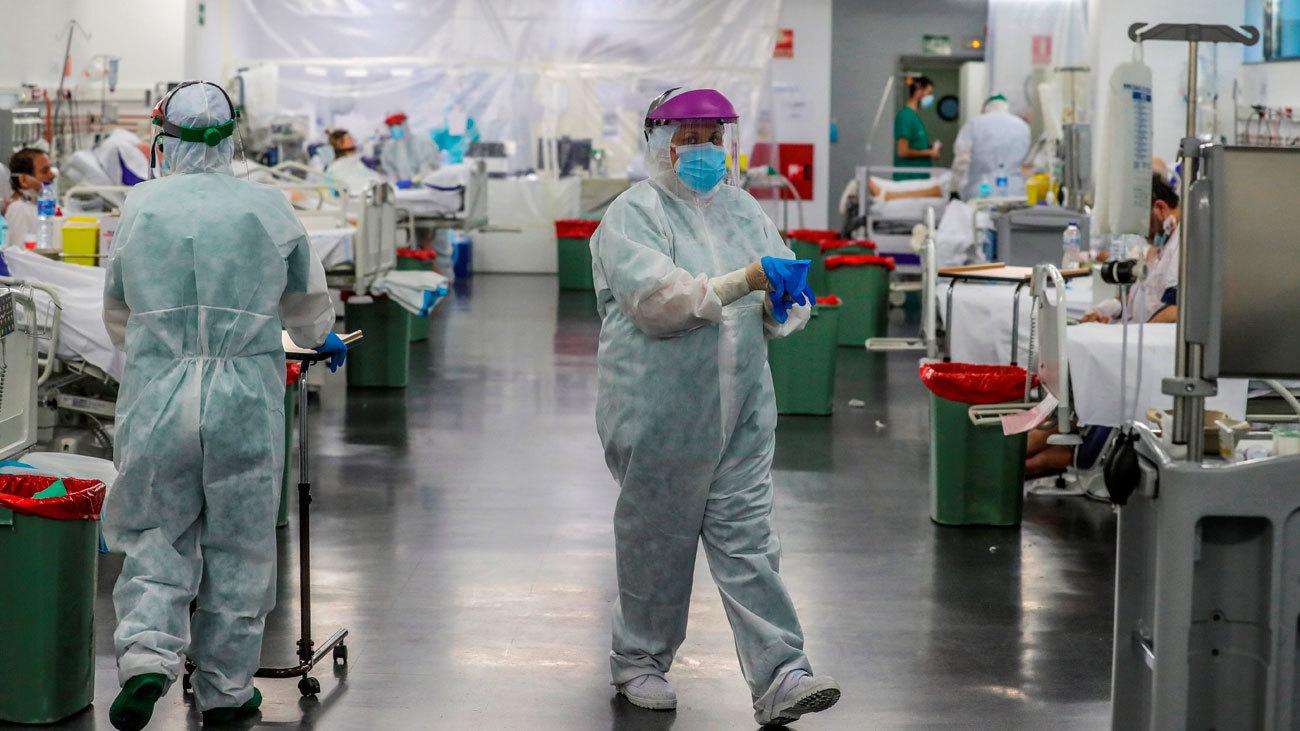 Varios hospitales madrileños diseñan planes de repliegue sin impacto en las UCI