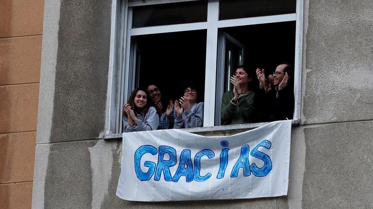 Vecinos del Hospital de la Princesa de Madrid