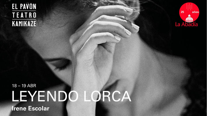 La actriz Irene Escolar participa en la lucha contra el coronavirus 'Leyendo Lorca'