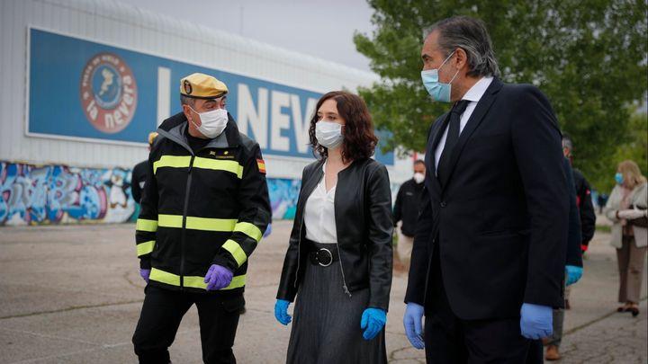Madrid cierra la morgue del Palacio de Hielo de Majadahonda