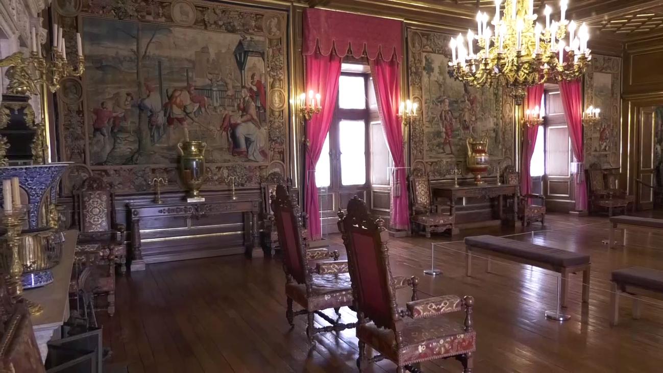 El Castillo de Pau, el hogar de Enrique IV