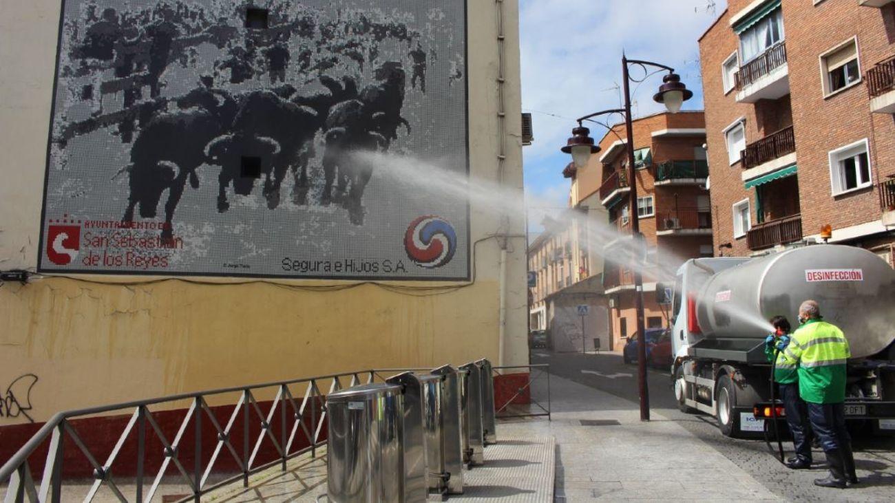 Limpieza de fachadas de San Sebastián de los Reyes