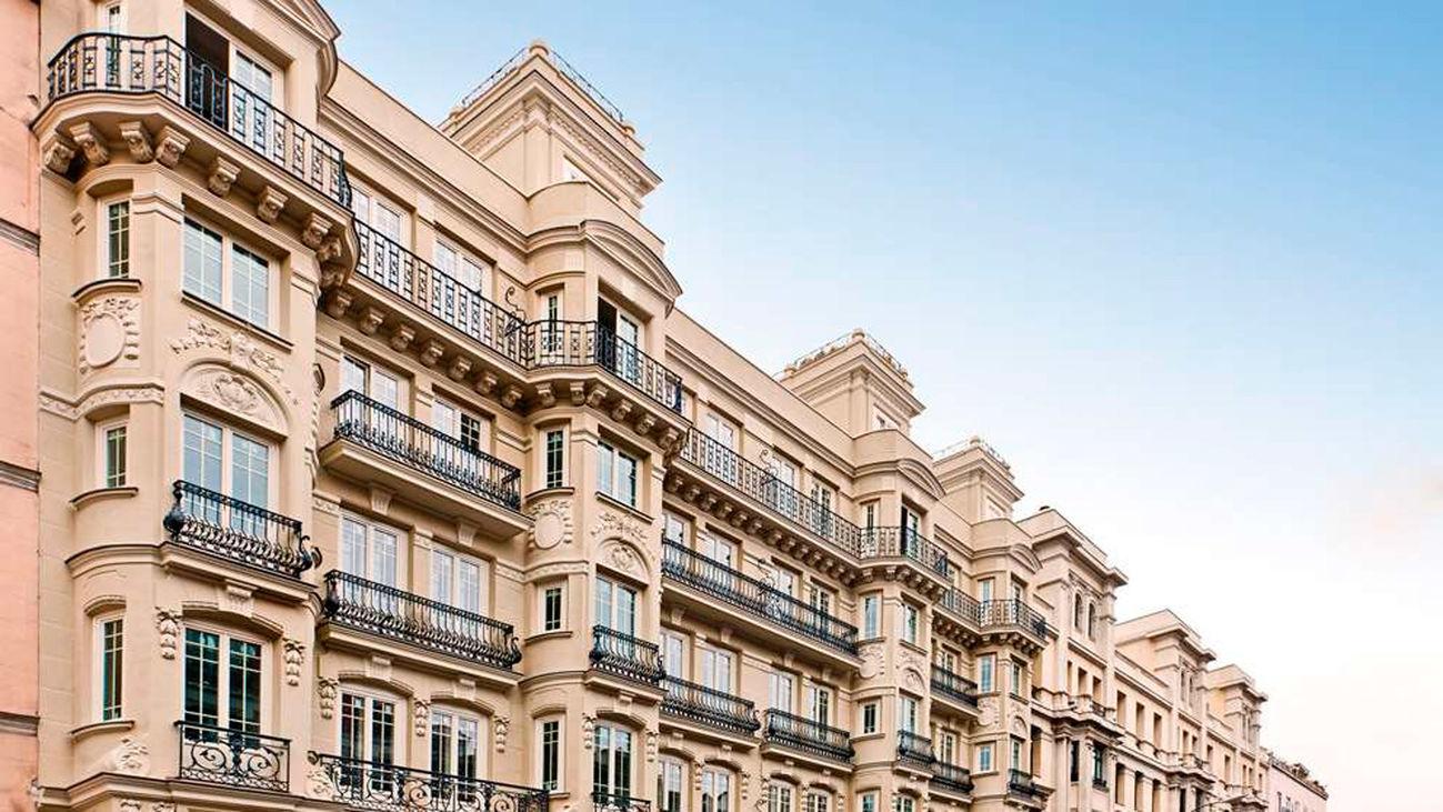 Fachada del hotel Catalonia, en Atocha