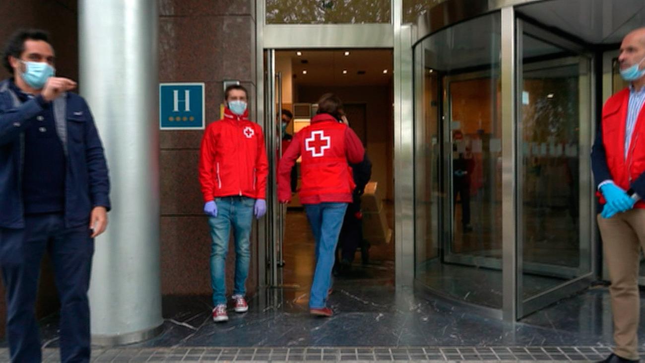 Madrid estrena un hotel medicalizado de 4 estrellas para personas sin hogar con síntomas leves de Covid-19