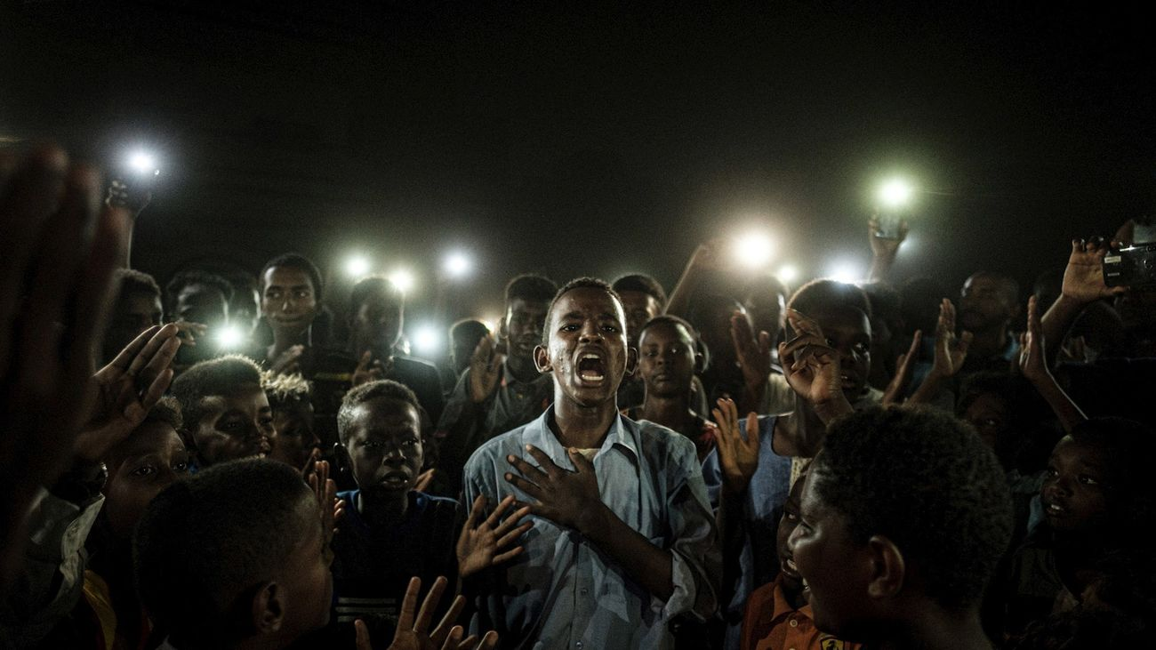 'Voz directa', la simbólica fotografía ganadora del World Press Photo 2020