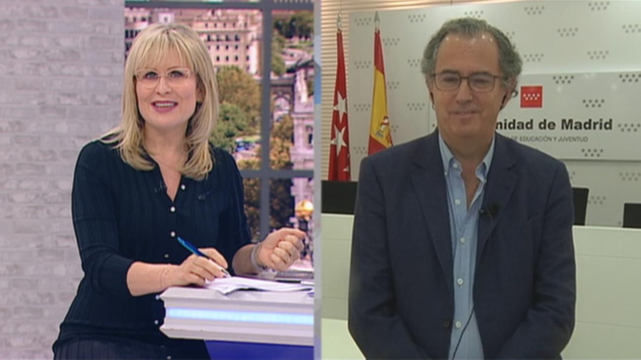 """Enrique Ossorio:""""Todos estamos de acuerdo en que es un año especial y hay que ser flexibles en las evaluaciones"""""""