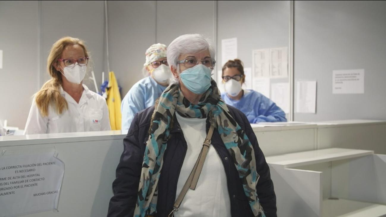 """La última paciente del pabellón 7 de Ifema: """"La labor que estáis haciendo no tiene precio"""""""