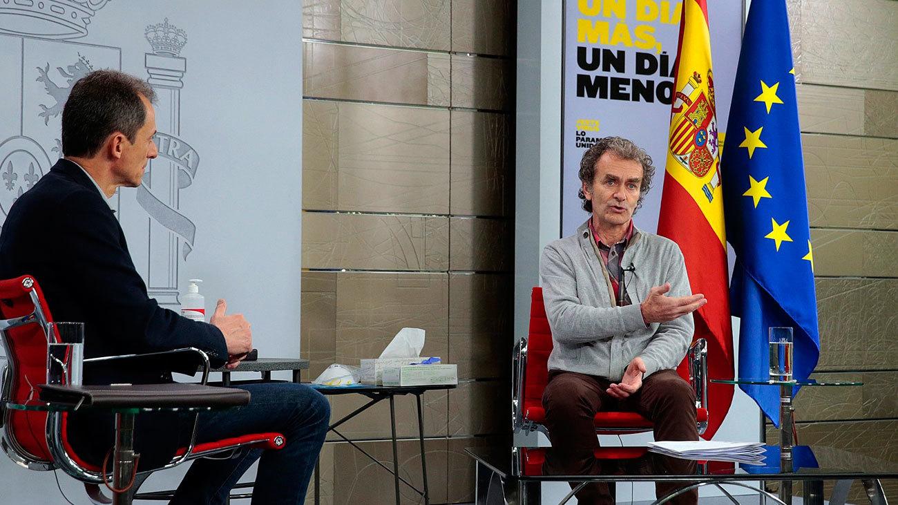 #LaInfanciaPregunta, una charla de menores desde Moncloa con el ministro Pedro Duque y el doctor Fernando Simón