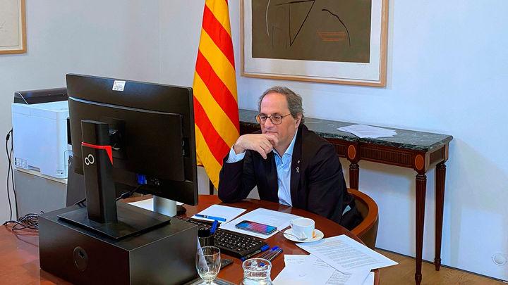 Torra anuncia que estudia presentar una denuncia contra el Rey Juan Carlos por presunta corrupción