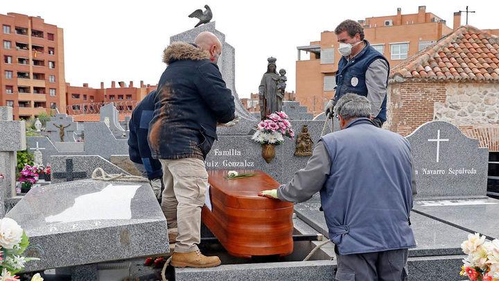 Los registros civiles madrileños registraron en un mes 12.183 muertos en plena crisis del Covid
