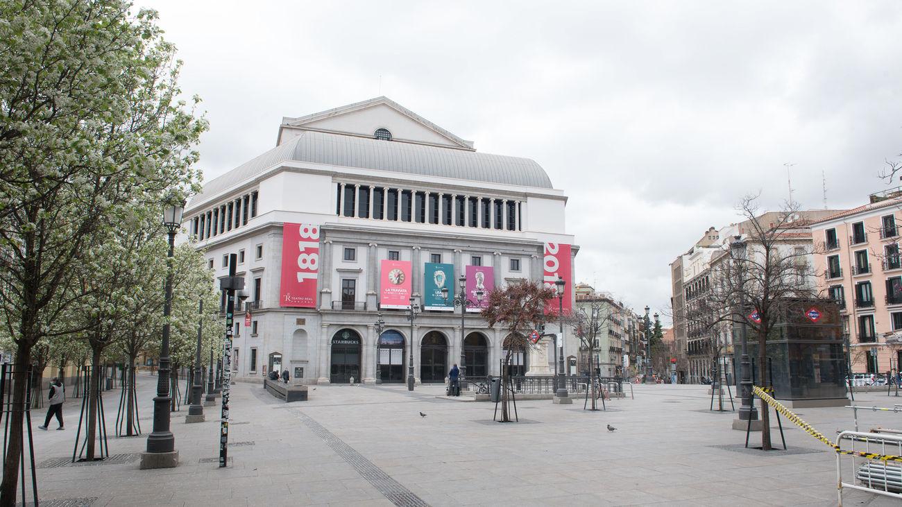 La Plaza de Ópera, en Madrid
