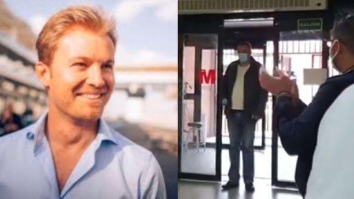 El expiloto Rosberg alaba el gesto solidario de un conductor de Alcorcón
