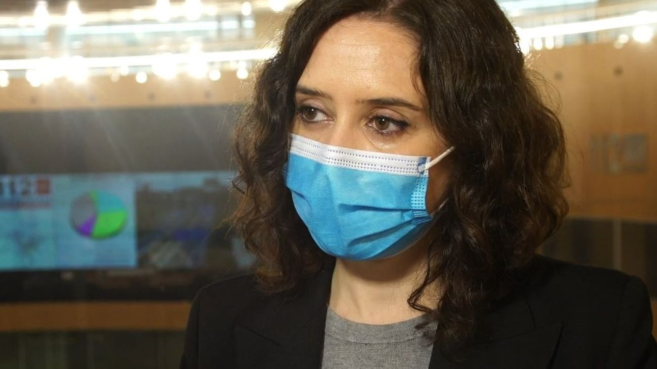 Isabel Díaz Ayuso ha anunciado la compra de 14 millones de mascarillas