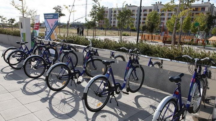 El servicio de alquiler de bicicletas de Getafe reabre este miércoles al 50% y obliga a llevar guantes
