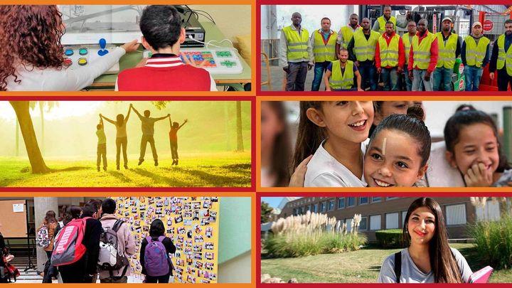 Programas y proyectos sociales realizados con la X Solidaria