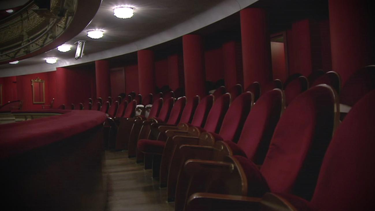 El Teatro Real vacío, pero no enmudecido