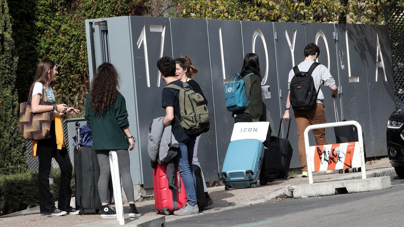 El colegio Loyola, en el distrito de Moncloa en Madrid